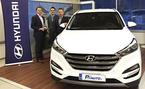 PP-auto Oy Lohja palkittiin vuoden Hyundai huippumyyj�ksi!