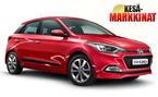 Kes�markkinatarjouksena Hyundai i20 metalliv�rill� ja talvirengaspaketilla vain 15.900 � tai ilman k�sirahaa 159 �/kk!