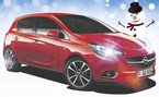 Talvihulinoilta Opel Corsa Enjoy More -paketilla 16.387 € tai ilman käsirahaa 195 €/kk! Kaupan päälle 1000 € varusteet!