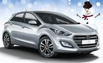 Rajoitettu erä talvihulinahintaan! Uusi Hyundai i30 mahtavilla varusteilla 16.990 € tai ilman käsirahaa 195 €/kk!