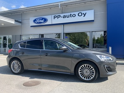 FORD FOCUS 1,0 EcoBoost 125hv A8 Vignale 5-ovinen, vm. 2019, 0 tkm