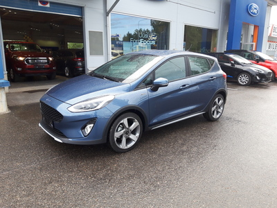 Ford FIESTA 1,0 EcoBoost 100hv A6 Active III 5-ovinen, vm. 2019, 0 tkm