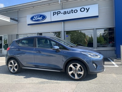 FORD FIESTA 1,0 EcoBoost 100hv A6 Active III 5-ovinen, vm. 2020, 4 tkm