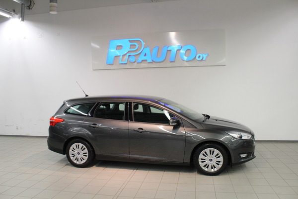 Ford FOCUS 1,6 125 PowerShift A Trend Wagon, vm. 2015, 76 tkm