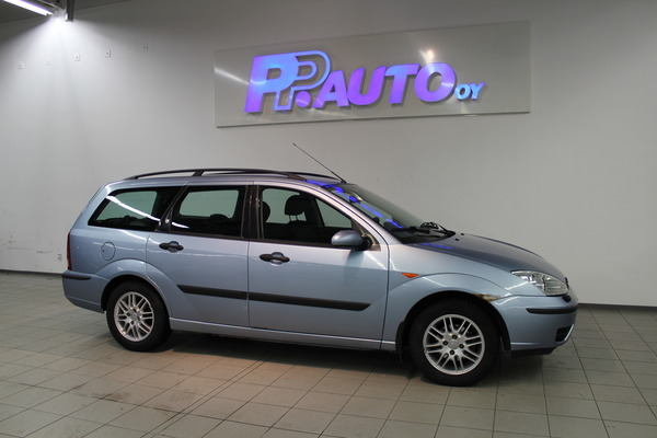 Ford FOCUS 1.6i Ambiente Limited 5d A, vm. 2004, 247 tkm