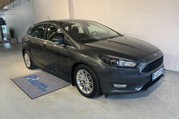 FORD FOCUS 1,0 EcoBoost 125 hv Start/Stop M6 Edition 5-ovinen, vm. 2018, 74 tkm