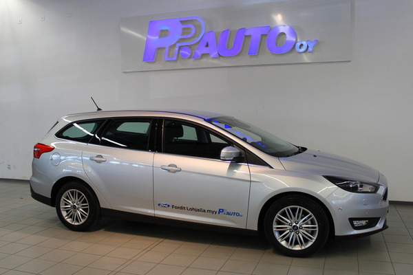 Ford FOCUS 1,0 EcoBoost 125 hv Start/Stop M6 Edition Wagon, vm. 2018, 6 tkm