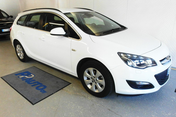 Opel Astra Sports Tourer Drive 1,4 Turbo ecoFLEX Start/Stop 103kW MT6, vm. 2016, 52 tkm