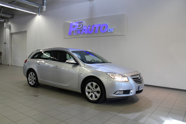 Opel Insignia Sports Tourer Edition 1,6 Turbo Ecotec 132kW/180hv M6 BL, vm. 2009, 134 tkm