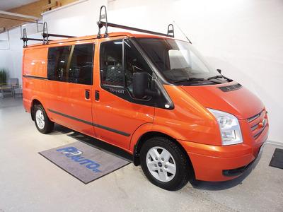 Ford Transit 300M 2,2TDCi 140 hv Limited N1 Van FWD 4,36 Matala - Korko 1,69 % ja kasko -25% - 1.erä huhtikuussa!, vm. 2012, 211 tkm (1 / 9)