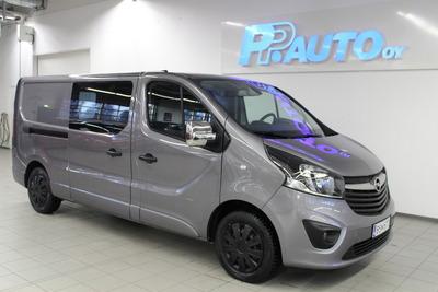 Opel Vivaro Van Edition L2H1 1,6 CDTI Bi Turbo ecoFLEX 88kW MT6 - Korko 1,69 %+kulut  ja 1.erä toukokuussa!, vm. 2015, 131 tkm (1 / 11)