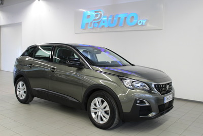 Peugeot 3008 Active PureTech 130 - Korko 1,89% ja 1.erä lokakuussa! Lisäksi kaskovakuutus -33%! Katso kaikki Kesämarkkinatarjoukset www.ppauto.fi, vm. 2017, 68 tkm (1 / 9)