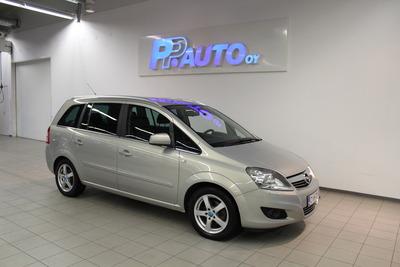 Opel Zafira 5-ov Enjoy Ultimate 1,8 Ecotec 103kW MT5 - Korko 1,69 % ja kasko -25% - 1.erä huhtikuussa!, vm. 2011, 160 tkm (1 / 13)