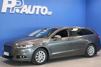 Ford Mondeo 2,0 TDCi 150hv PowerShift Titanium Business Wagon - Rahoituskorko 0,99%  ja 1. erä syyskuussa!, vm. 2015, 106 tkm (1 / 7)