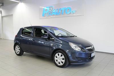 Opel Corsa 5-ov Enjoy 111 1,2 Twinport 51kW MT5 - Korko 2,9% ja 1.erä joulukuussa! , vm. 2010, 37 tkm (1 / 14)