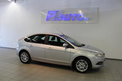 Ford Focus 1,6 100hv Ghia M5 5-ovinen - Rahoituskorko 1.49% ja 1. erä syyskuussa!, vm. 2009, 119 tkm (1 / 10)