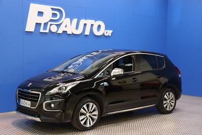 Peugeot 3008 Allure PureTech 130 - Korko 0,99% ja 1000€ S-bonuskirjaus! Rah. 72kk ilman käsirahaa!, vm. 2015, 95 tkm (1 / 16)