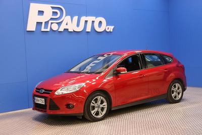 Ford Focus 1,0 EcoBoost 125 hv Trend X M6 5-ovinen - 1000€:sta S-bonusta*!  Korko 0,99%**, 72 kk, ilman käsirahaa!, vm. 2013, 114 tkm (1 / 14)