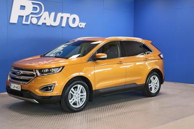 Ford Edge 2,0 TDCi 210hv PowerShift A6 AWD Titanium 5D - *1000€ S-bonuskirjaus! Korko 0,99%**, 72 kk, ilman käsirahaa!!, vm. 2018, 51 tkm (1 / 18)