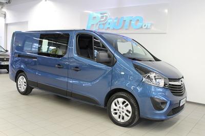 OPEL Vivaro Van Edition L2H1 1,6 CDTI BiTurbo 92 kW MT6 - Korko 1,89% ja 1.erä lokakuussa! Lisäksi kaskovakuutus -33%! Katso kaikki Kesämarkkinatarjoukset www.ppauto.fi, vm. 2018, 24 tkm (1 / 10)