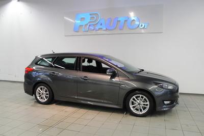 Ford Focus 1,0 EcoBoost 125 hv Start/Stop A6 ST-Line Wagon - Korko 1,89% ja 1.erä kesäkuussa! Vaihtoviikot 14.-31.3., vm. 2017, 38 tkm (1 / 9)
