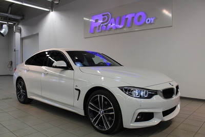 BMW 420d A F36 Gran Coupe 420d A xDrive Edition M Sport - Korko 1,89% ja 1.erä kesäkuussa! Vaihtoviikot 14.-31.3., vm. 2018, 6 tkm (1 / 24)
