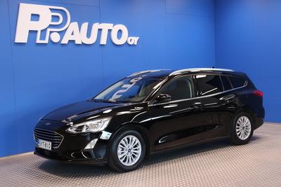 Ford Focus 1,0 EcoBoost 125hv M6 Titanium Wagon - Korko 0,99% ja 1000€ S-bonuskirjaus!! Rah.72 kk ilman käsirahaa!, vm. 2019, 40 tkm (1 / 15)