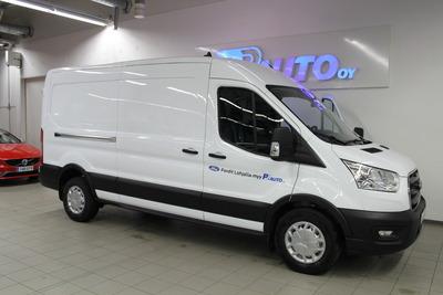 FORD TRANSIT Van 350 2,0 TDCi 130 hv Etuveto 4,93 L3H2 M6 Trend - Esittelyauto nopeaan toimitukseen!, vm. 2020, 1 tkm (1 / 15)