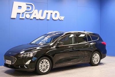 FORD FOCUS 1,0 EcoBoost 125hv A8 Trend Wagon - Korko 0,99% - S-bonusostokirjaus 2000€ ja kasko -25% Kauppaviikon special edut!*, 2xrenkaat! - , vm. 2021, 8 tkm (1 / 8)