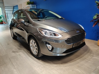 Ford FIESTA 1,0 EcoBoost 100hv A6 Titanium 5-ovinen - Korko 0,99 % ja 1.erä maaliskuussa! Kaskovakuutus -33 %!, vm. 2019, 0 tkm (1 / 5)