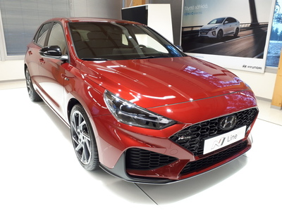 Hyundai i30 Hatchback 1,5 T-GDI 160 hv 48V hybrid 7-DCT-aut N Line - Uusi i30 N-Line 2021! - Korko 0%* ja 5000€ S-bonusostokirjaus!! Raj.40kpl erä uusia rekisteröimättömiä!, vm. 2021, 0 tkm (1 / 8)