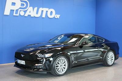 Ford Mustang 2,3 EcoBoost 314hv M6 Fastback - Korko 0,99% ja 1000€ S-bonuskirjaus! Rah. 72kk ilman käsirahaa!, vm. 2018, 25 tkm (1 / 18)