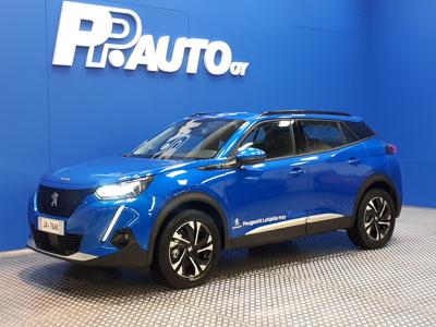 Peugeot e-2008 Allure 50 kWh 136 - Korko 0,99% - S-bonusostokirjaus 2000€ ja kasko -25% Kauppaviikon special edut!*, 2xrenkaat! -  e-2008 Täyssähköauto!, vm. 2020, 3 tkm (1 / 6)