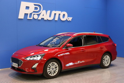 Ford FOCUS 1,0 EcoBoost 125hv A8 Titanium Wagon - Korko 0,99% - S-bonusostokirjaus 2000€ ja kasko -25% Kauppaviikon special edut!*, 2xrenkaat! - , vm. 2021, 18 tkm (1 / 13)