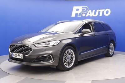 Ford MONDEO 2,0 187hv Hybrid automaatti Vignale Wagon - Korko 0,99% - S-bonusostokirjaus 2000€ ja kasko -25% Kauppaviikon special edut!*, 2xrenkaat! - , vm. 2021, 13 tkm (1 / 11)
