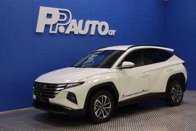 Hyundai TUCSON 1,6 T-GDI 230 hv Hybrid 4WD 6AT Style MY21 - Korko 0,99% - S-bonusostokirjaus 2000€ ja kasko -25% Kauppaviikon special edut!*, 2xrenkaat! - Lähes ajamaton, huippuvarusteltu!!, vm. 2021, 1 tkm (1 / 16)