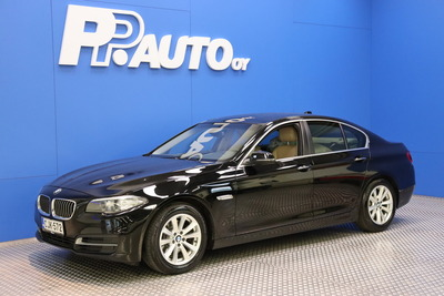 BMW 518 F10 Sedan 518d TwinPower Turbo A Business Automatic - Korko 0,99%, 1000€ S-bonuskirjaus! 72kk ilman käsirahaa!, vm. 2014, 134 tkm (1 / 15)