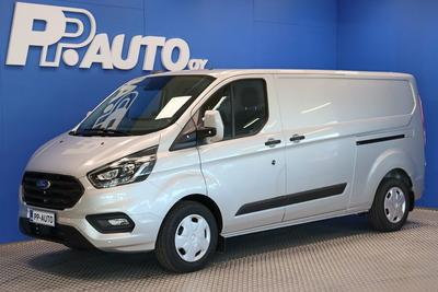 Ford TRANSIT CUSTOM 320 2,0TDCi 130 hv A6 Etuveto Trend Van N1 L2H1 - Korko 0,50%* Talvirenkaat 0€! Takuu 5vuotta/150 tkm - , vm. 2021, 0 tkm (1 / 8)