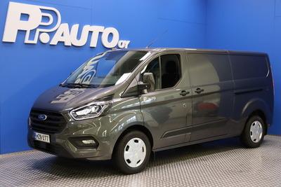 Ford TRANSIT CUSTOM 320 2,0TDCi 130 hv M6 Etuveto Trend Van N1 L2H1 - Korko 0,50%* Talvirenkaat 0€! Takuu 5vuotta/150 tkm - , vm. 2021, 0 tkm (1 / 14)
