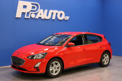 Ford FOCUS 1,0 EcoBoost 100 hv M6 Trend 5-ovinen - Korko 0,99% - S-bonusostokirjaus 2000€ ja kasko -25% Kauppaviikon special edut!*, 2xrenkaat! - , vm. 2021, 1 tkm (1 / 8)