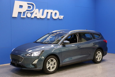 Ford FOCUS 1,0 EcoBoost 125hv A8 Trend Wagon - Korko 0,99% - S-bonusostokirjaus 2000€ ja kasko -25% Kauppaviikon special edut!*, 2xrenkaat! - , vm. 2021, 3 tkm (1 / 8)