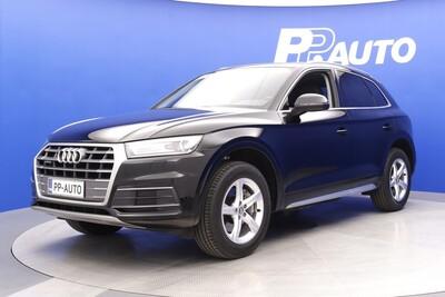Audi Q5 Business Sport 2,0 TDI 140 kW quattro S tronic - Korko 0,99% ja 1000€ S-bonuskirjaus!! Rah.72 kk ilman käsirahaa!, vm. 2017, 29 tkm (1 / 11)