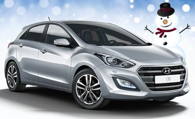 Rajoitettu erä talvihulinahintaan! Uusi Hyundai i30 mahtavilla varusteilla vain 16.990 €!