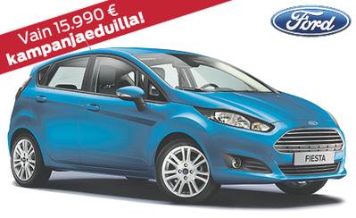 Rajoitettu erä! Ford Fiesta Edition vain 15.990 € tai ilman käsirahaa vain 199 €/kk!
