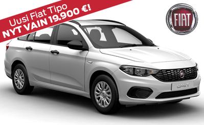 Rajoitettu erä kampanjahintaan! Uusi Fiat Tipo STW POP vain 19.900 € tai ilman käsirahaa 218 €/kk!