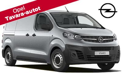 Ensiesittelyssä uusi Opel Vivaro, hinnat alk. 30.135 €! Nyt koko Opel tavara-automallistoon rahoituskorko 0% ja talvirenkaat 299 €!