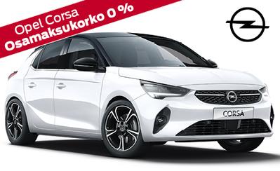 Täysin uusi Opel Corsa! Hinnat alk. 15.990 € tai esim. 149 €/kk. Nyt koko Opel-mallistoon korko 0 % ja 3 kk lyhennysvapaata!