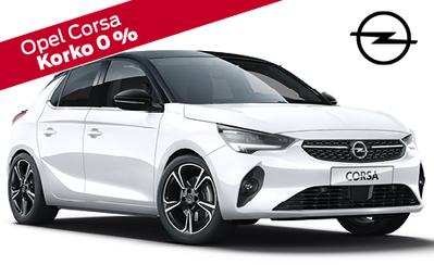Opel Corsa Excite 16.386 € tai ilman käsirahaa 189 €/kk! Korko 0,99%! Talvirenkaat nyt vain 499 €!