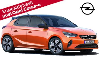 Tutustu uuteen Corsa-e:hen – tulevaisuuteen valmis täyssähköauto. Valmistaudu sähköiseen elämykseen, tilaa omasi jo tänään!