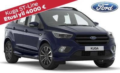 Uusi Ford Kuga 5v. takuulla ilman käsirahaa 349 €/kk! Nyt automaatti vain 990 €! Etusi jopa 2.000 €!